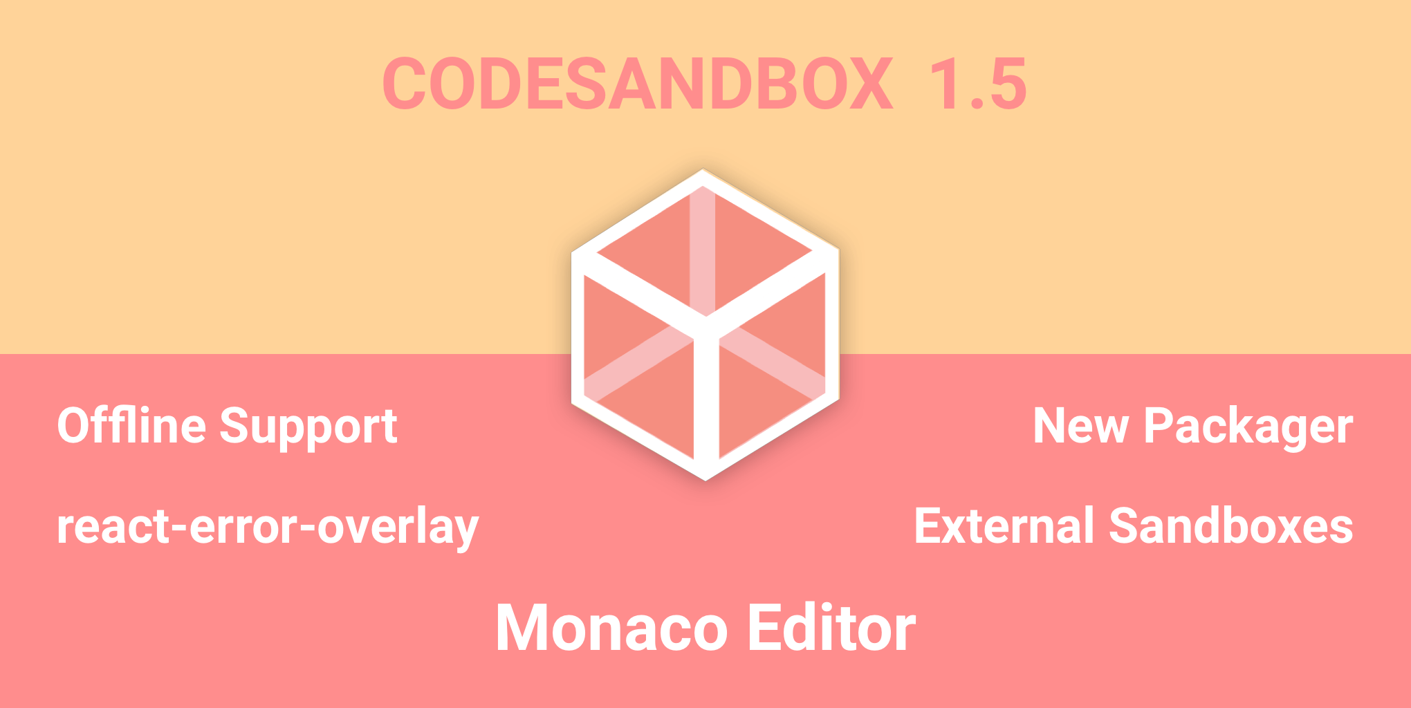 CodeSandbox 1.5 Changelog